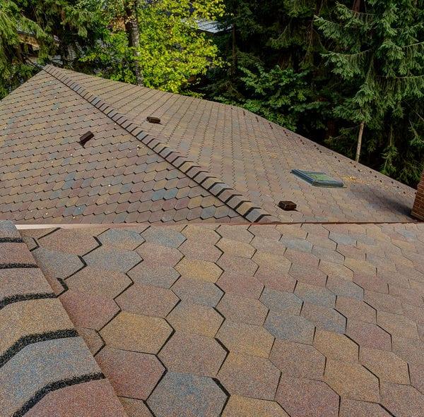 Крыша с гибкой черепицей Shinglas Вестерн Каньон