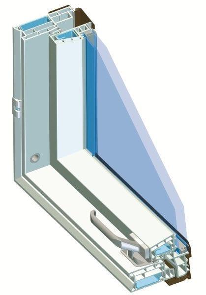 PTP-V U3 стеклопакет мансардное окно