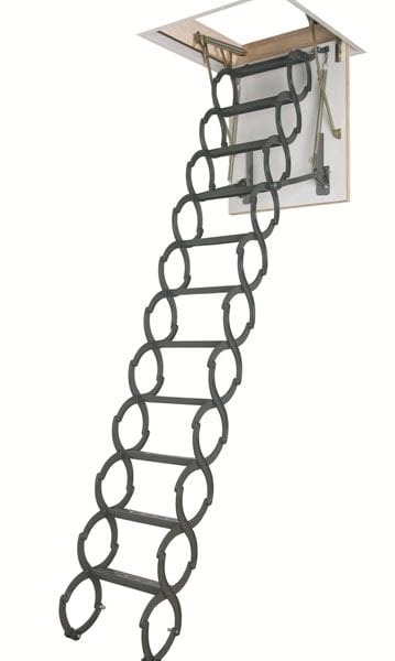 Металлическая термоизоляционная чердачная лестница LST