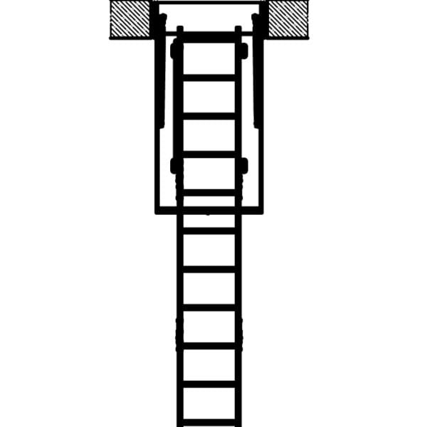 Чердачная лестница Fakro LTK
