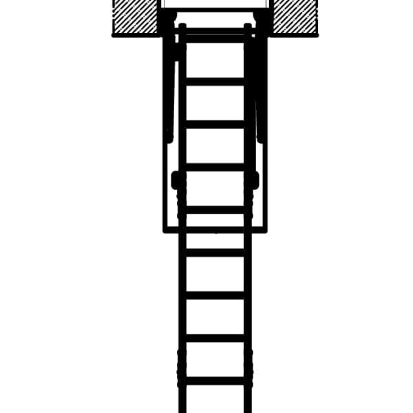 Чердачная лестница Fakro lwk-plus