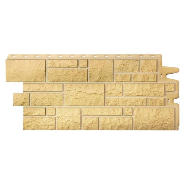 Фасадные панели под камень BURG Оливковый