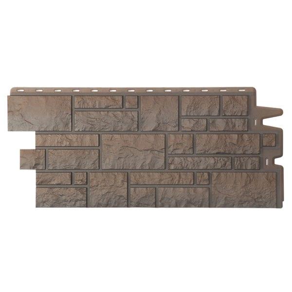 Фасадные панели под камень BURG Тёмный_