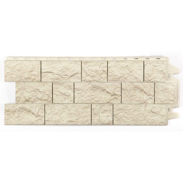 Фасадные панели под камень FELS Горный-хрусталь