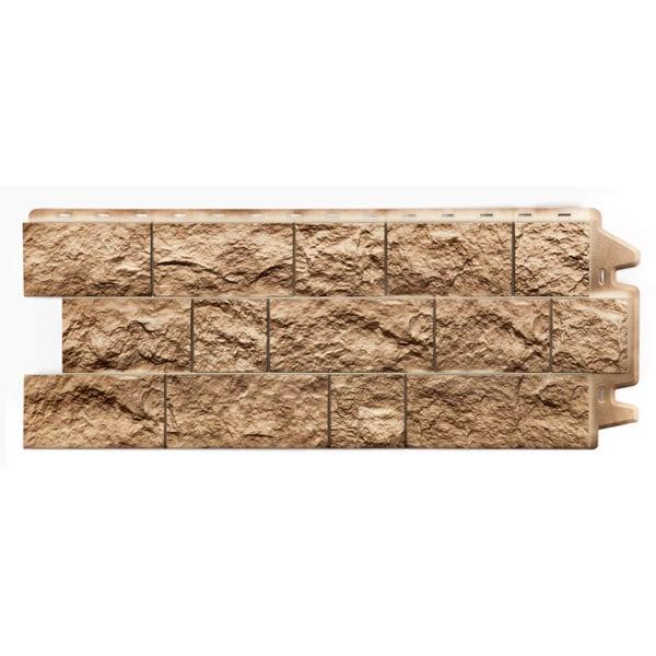 Фасадные панели под камень FELS Перламутровый