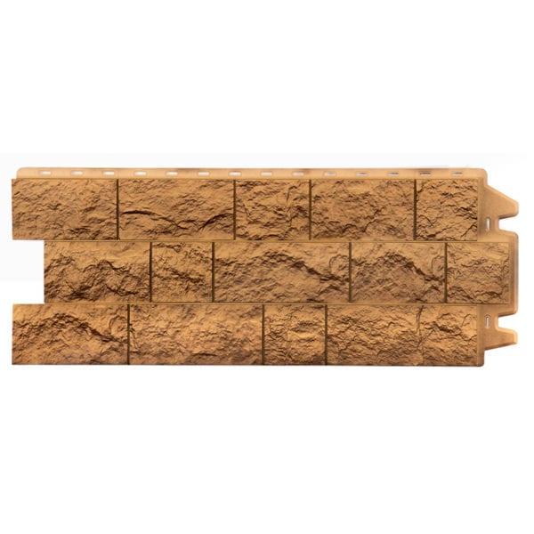 Фасадные панели под камень FELS Терракотовый