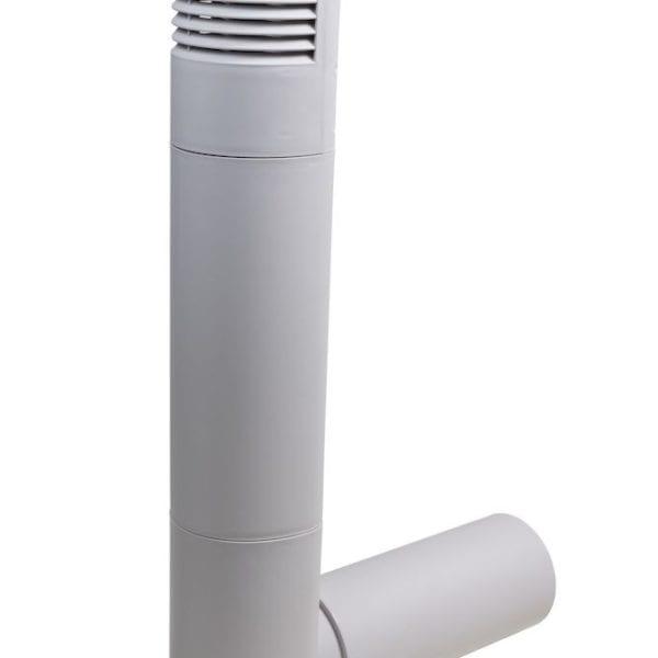 цокольный дефлектор vilpe серый