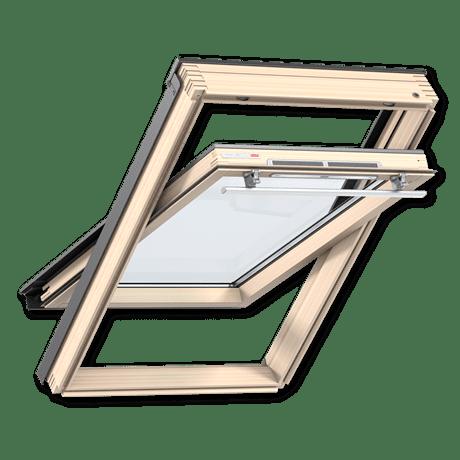 Мансардное окно Велюкс, ручка сверху