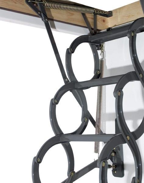 Металлическая термоизоляционная чердачная лестница LSZ
